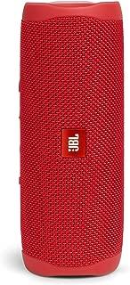 JBL FLIP5 音乐万花筒五代 便携式蓝牙音箱 低音炮 防水设计 支持多台串联 户外迷你音箱 魄动红