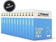 Polaroid Originals 彩色胶片 6004966 Color Film for 600-12-Pack, 96 Photos (4966)