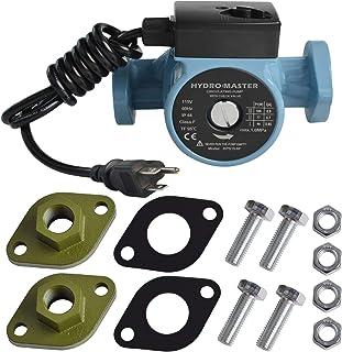 "HYDRO MASTER 02208300 3/4"" NPT 热水循环泵,带有 3 档速度控制,用于热水系统(含美国标准插头)和全尺寸橡胶垫圈。"