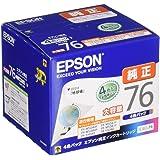 EPSON 原装墨盒 地球仪IC4CL76 4色パック
