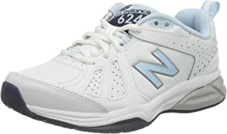 New Balance 女士 624v5 室内鞋 白色(白色) 37 EU