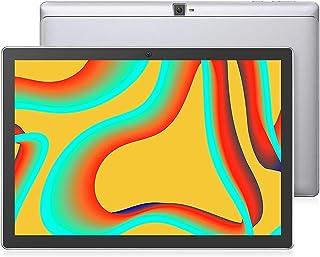 VANKYO MatrixPad S30 平板电脑 10 英寸, 3GB RAM, 八核处理器, Android 9.0 Pie, 1080P 全高清 IPS 玻璃显示屏, 13MP/8MP 双摄像头, 2.4G/5G WiFi, 6000mAh, Type C, GPS, 金属外壳, 银色