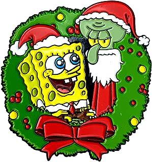 圣诞节 海绵宝宝 & Squidward - *海绵宝宝收藏别针