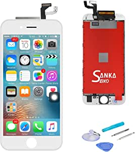 "SANKA LCD 屏幕替换显示触摸屏数字化仪维修部件ZC6SPYW-FBA For iPhone 6S Plus(5.5 inches) White iPhone 6S Plus(5.5"") White"
