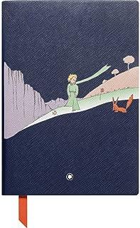 Montblanc Fine 文具筆記本電腦 #146 Le Petit Prince Edition – 筆記本A5 橫線帶軟封面 – 顏色:藍色 – 192頁