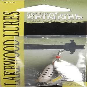 South Bend Abu Type Spinner 1/4 盎司分类钓鱼设备