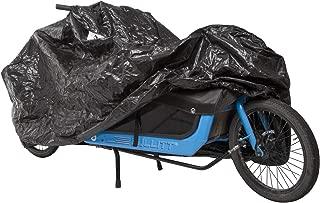 M-Wave 中性款 – 成人 CARGO 车库超大单轨自行车保护重型防水布布,尺寸约为: 290 x 120 x 70 厘米,黑色,约 290x120x70 厘米