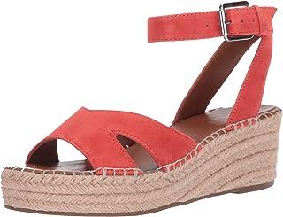 Franco Sarto 女士 Pellia Espadrille 坡跟凉鞋