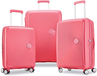 American Tourister Curio 硬壳行李箱,带万向轮 桃红色 3-Piece Set (20/25/29)