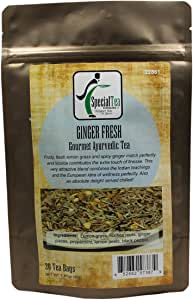 Special Tea Ginger Fresh Ayurvedic Tea, 20 Count