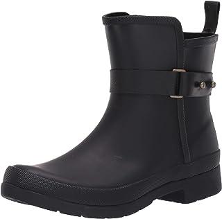 Chooka 女士防水 Sidewalk 短靴带雨靴