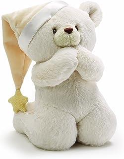 GUND 祷告泰迪熊婴儿音乐毛绒玩具
