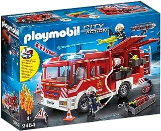 PLAYMOBIL 摩比 9464 玩具 - 消防车