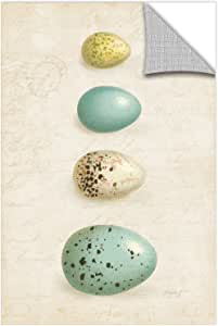 """Tremont Hill Katie Pertiet """"Bird Eggs II""""可移除壁画 蓝色 24X36"""" 2per034a2436p"""