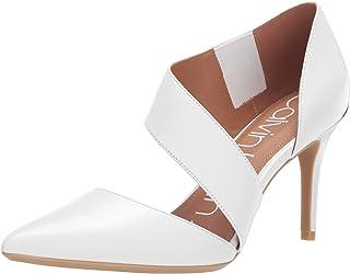 Calvin Klein 女士 Gella 高跟鞋 白色 5