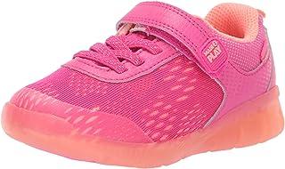 Stride Rite Neo 男孩和女孩运动鞋发光网面运动鞋