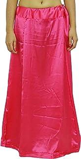 绸缎丝纱丽衬裙,宝莱坞印度纱丽内衬