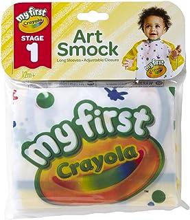 Crayola 绘儿乐 First ArtSmock 艺术工作服,均码