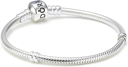 Pandora 潘多拉 蛇链基础手链 590702HV (丹麦品牌 香港直邮)