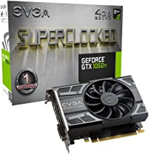 EVGA NVIDIA GeForce GTX 1050 Ti 游戲,4GB GDDR5,DX12 OSD 支持 (PXOC) 顯卡