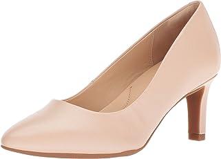 Clarks Calla Rose Women's Leather Closed Toe Pump 31857