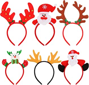 Sumind 圣诞发带 圣诞老人头带 发箍 多种颜色 Medium