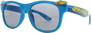 名古屋眼镜 儿童 太阳镜 (幼儿・儿童用) 防紫外线99%以上 蓝色 (幼児・子供用) 88-856
