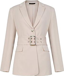 女式正式单扣办公室女士商务西装外套