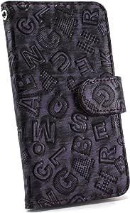 白色坚果字母保护套保护壳翻盖式 紫色 21_ LG G5 LG-H860N