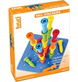Lauri Tall-Stacker橡胶木栓板玩具套装