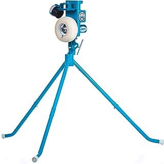 JUGS PS50 棒球和垒球投球机 — 投球机可承受 50 英里特的入门级投球机。 可投掷棒球和垒球。 仅重 50 磅。 真实配送高度