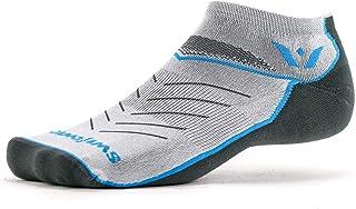 Swiftwick - Vibe ZERO, No-Show Compression Socks for Running