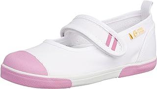Carrot 室内鞋 魔术贴 儿童 鞋 4大功能 舒适合脚 宽松 防臭 CR ST13 粉色 17.5 2E
