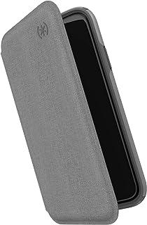 Speck Presidio Folio iPhone 11 Pro Max Case 覆盖 多种颜色130035-7564 Heathered Chelsea Grey/Chelsea Grey/Graphite Grey