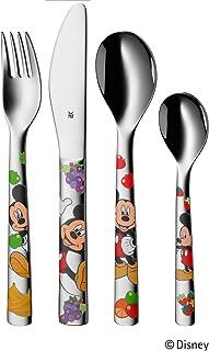 WMF 儿童餐具套装4 - 件儿童勺子儿童叉子儿童刀具儿童咖啡勺子米老鼠魁 rgan 不锈钢不生锈抛光自3岁适合