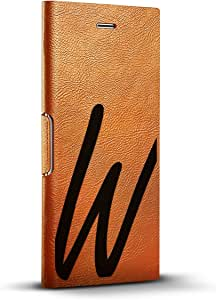 LuxendaryLUX-I8LTRBR-INITIALW1 BLACK INITIAL W1 iPhone 8/7/6/6s Tawny Brown