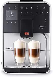 Melitta,全自动咖啡机,Caffeo Barista T Smart F830-101 CAFFEO,1.8升 银白色