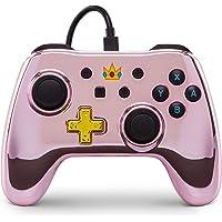 PowerA Nintendo Switch 有線控制器加強版 Chrome Princess Peach