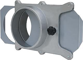 POWERTEC 70108 4 英寸防爆门适用于真空/灰尘收集器 4-Inch 70135