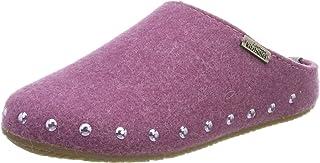 Living Kitzbühel 女孩拖鞋毛毡带铆钉带鞋垫