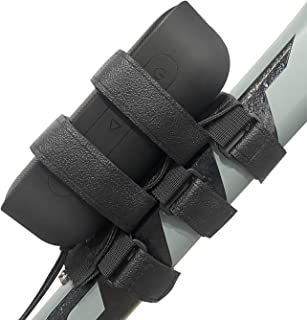 HomeMount 自行车音箱支架,防水户外可调节带子配件,适用于大多数自行车便携式音箱