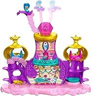 Fisher-Price 费雪 尼克国际儿童频道《愿望精灵小姐妹》 蒂妮精灵浮动精灵宫玩具套装