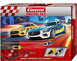 Carrera 卡雷拉 DIGITAL 143 高速 Getaway 20040038 汽车轨道套装