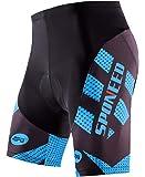 Sponeed 男士骑行短裤加垫自行车骑行裤自行车骑行服骑行裤