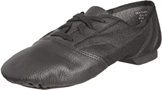 Capezio 458 黑色 Split 爵士鞋