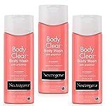 Neutrogena 露得清 Body Clear沐浴露 粉紅葡萄柚 8.5盎司(250ml)