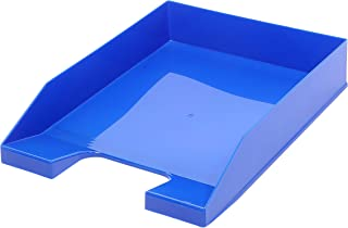 A4 可堆叠字母托盘 - 基本蓝色 - 4 件装