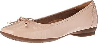 Clarks 女式 Candra 浅口平底鞋