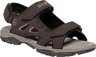 Regatta 男士露趾凉鞋,棕色 Brown Peat Prchmnt 5tw 7