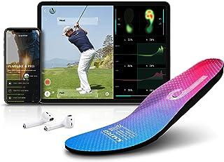 盐渍智能鞋垫,IOT 型高尔夫智能可穿戴设备分析脚压和重量变化高尔夫射击练习器高尔夫解决方案软件应用高尔夫教练解决方案